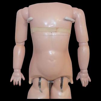 Antique German Doll Body Walker Working Cry Box
