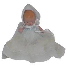 NASB Nancy Ann Storybook Doll Hush-a-Bye Baby Doll Dress & Bonnet StarFish Hands