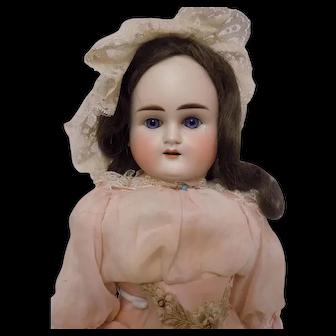 Antique German ABG Alt Beck Gottschalk Blond #1123 Turned Shoulder Head Doll