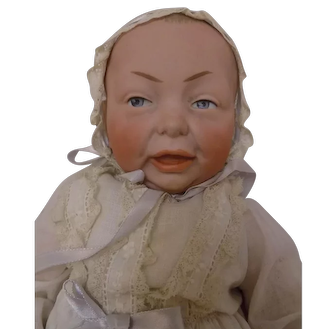 """14"""" Antique #100 Kammer and Reinhardt K*R Character Baby Doll"""