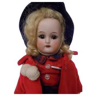 Antique German K*R Simon Halbig Flapper Doll