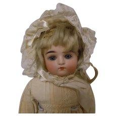 """Kestner D Turned Shoulder Head Antique German Doll 14"""" tall"""