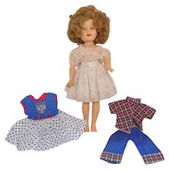 """12"""" Ideal Shirley Temple Doll with Clothes"""