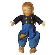 Vintage Cloth Tiny Town Dutch Boy Doll