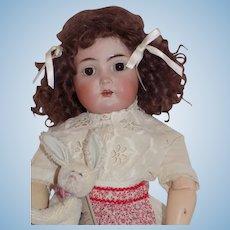 "Antique German Simon Halbig Kammer Reinhardt 403 Character Doll CUTE!!! 18 1/2"" Tall"