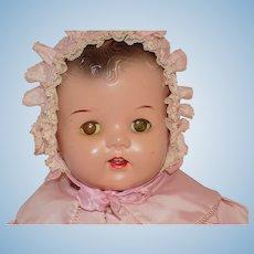 Vintage Composition Mama Doll Baby All Original