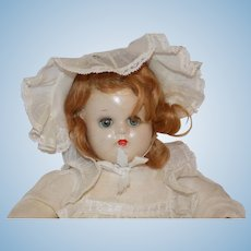Vintage Madame Alexander Composition McGuffey Baby Doll Tagged