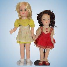 Ideal Plastic Toni Dolls Doll P-90 P-91