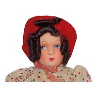 Vintage Cloth and Celluloid French Doll Poupees Jean-Lise Tagged