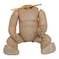 Large Antique German Baby Doll Body