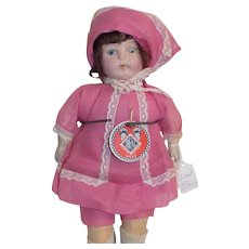 Vintage Ideal Composition Mama Doll Original Clothes with Tag