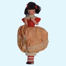 Vintage BAPS Cloth Little Miss Muffet