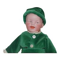 Antique German Gebruder Heubach Laughing Baby Toddler Boy # 8806