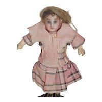 Tiny German Doll House Doll Original Clothes Provenance