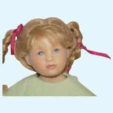 """Doll Artist Heidi Plusczok 10"""" Cathy Doll LE 112/160 2005"""