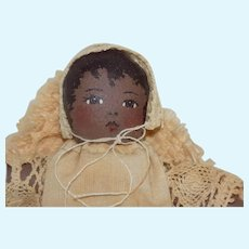 Talbott Doll Company Heirloom Doll Le Be' Be' Paysanne Country Baby African American