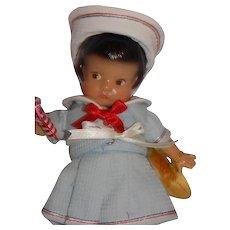 Sweet Vintage 8: Tall Effanbee Patsyette Doll July Sailor Ashton Drake MIB Patsy