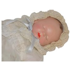 NMint Effanbee Composition Quiet Baby Babyette Doll Tagged All Original