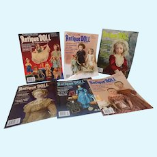 2016 Antique Doll collector Magazines 2017 July - December