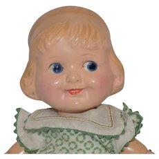 Vintage Cameo Joseph Kallus Wood Wooden Margie Doll