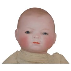 """Antique German Bye-Lo Baby Doll BYELO 11"""" tall"""
