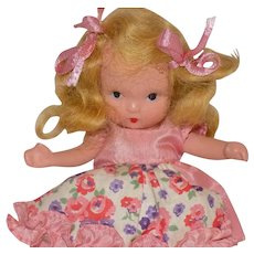 NASB Pudgy Tummy Story Book Doll Here I Am Little Joan