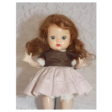 1954 NASB Muffie Doll #602-2 Straight Leg Walker