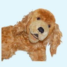 Cute Mohair Cocker Spaniel Dachshund Dog Steiff Hermann