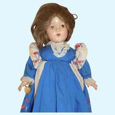 Effanbee Composition Historical Doll 1904 Louisiana Purchase Doll All Original