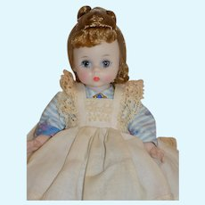 "Vintage 8"" Madame Alexander BKW Little Women Meg Doll Tagged and All Original"