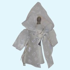 1950's Vintage Plastic Raincoat Terri lee DollSize