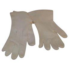 Vintage Child's Size Large Doll Gloves