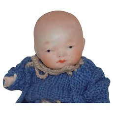 Antique Bisque Bye Lo ByeLo Baby Doll Japanese