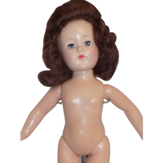 1944 Vintage Effanbee Little Lady Doll Composition to Dress