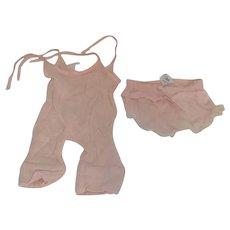 Effanbee Composition Patsy Joan Doll Niko Tagged Onesie Underwear