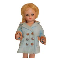 Vintage Hard Plastic Italy Italian Doll Bonomi