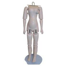 Seeley Doll Body German Bisque Fashion Lady 1159 Simon and Halbig