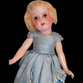 Antique Heubach Kopplesdorf Flapper Doll All Original