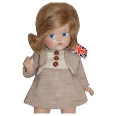 Vintage Composition Vogue Toddles Doll Original Clothes