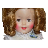 """12"""" Ideal Shirley Temple Doll in Tagged clothes"""