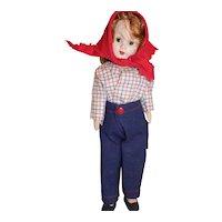 Vintage Richwood Toys Sandra Sue Doll All Original in Jeans Pants MIB