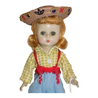 Vintage Madame Alexander Wendy Visits A Dude Ranch Doll Alexander-kins