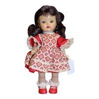 Vintage 1956 Nancy Ann Muffie Doll Boxed #655