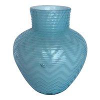 Exquisite Signed Webb Victorian MOP Art Glass Vase