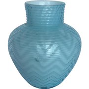 Exquisite Signed Webb Victorian MOP Art Glass Vase