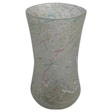 Victorian Rainbow Kralik Peloton Glass Spooner Vase