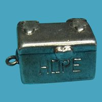 Vintage Sterling Silver Hope Chest Opening Charm