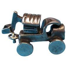 Vintage 1940s Rare Steam Shovel Truck Charm