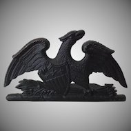 Metal Crafters Vintage 1952 Cast Iron Spread Eagle Door Stop Bookend