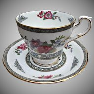 Paragon Tree of Kashmir Cup Saucer Vintage Fine Bone China England